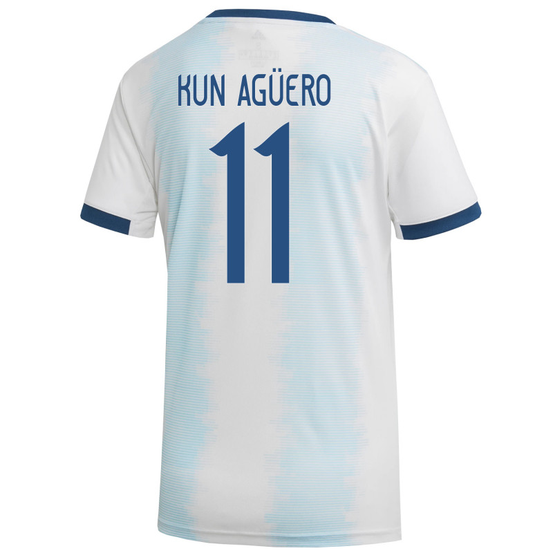 san francisco 471bb 438ee KUN Aguero #11 Argentina Home Women's World Cup Soccer ...