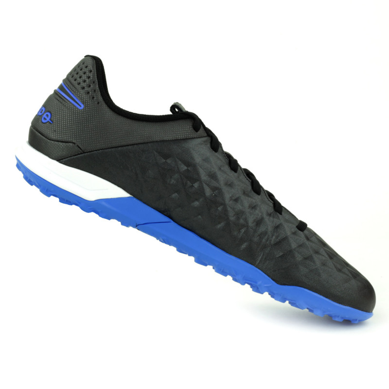 Nike Tiempo Legend 8 Academy Turf- Black/Black/Blue Hero