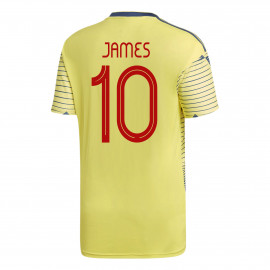 James #10 Colombia YOUTH Home Soccer Jersey COPA America 2019/20