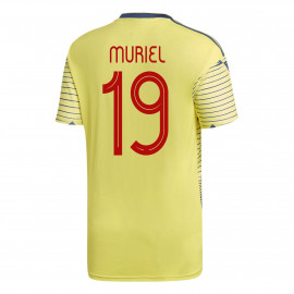 Muriel #19 Colombia YOUTH Home Soccer Jersey COPA America 2019/20