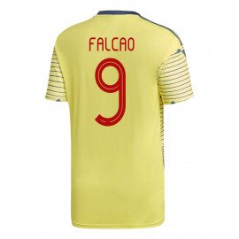 Falcao #9 Colombia YOUTH Home Soccer Jersey COPA America 2019/20