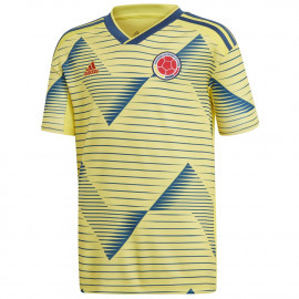d2cca8ca10d adidas Men s Colombia Home Jersey 2019-LIGHT YELLOW   NIGHT MARINE