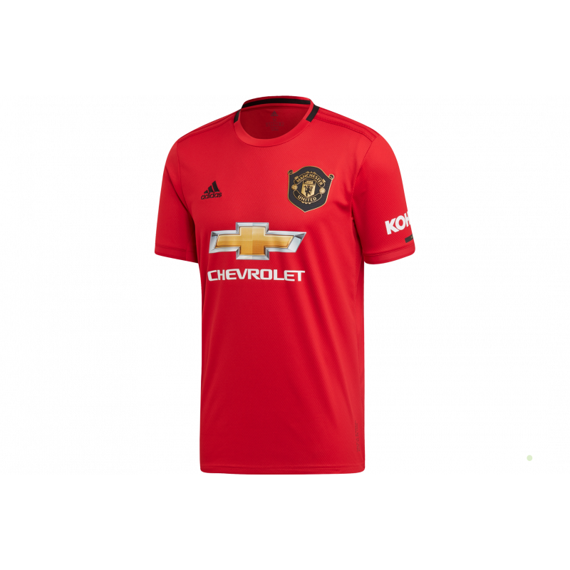adidas Men's Manchester United Home Jersey 2019-20 (Red)