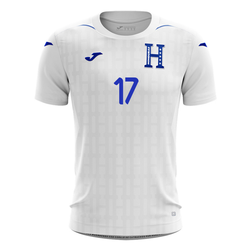 finest selection b9be0 e7e00 JOMA ELIS #17 HONDURAS HOME SOCCER MEN'S JERSEY 2019-20 (WHITE)