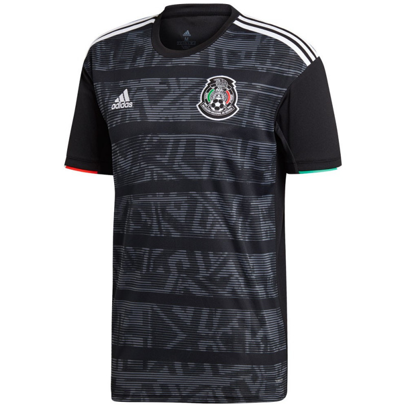 ADIDAS MEN'S MEXICO HOME JERSEY 2019- (BLACK)