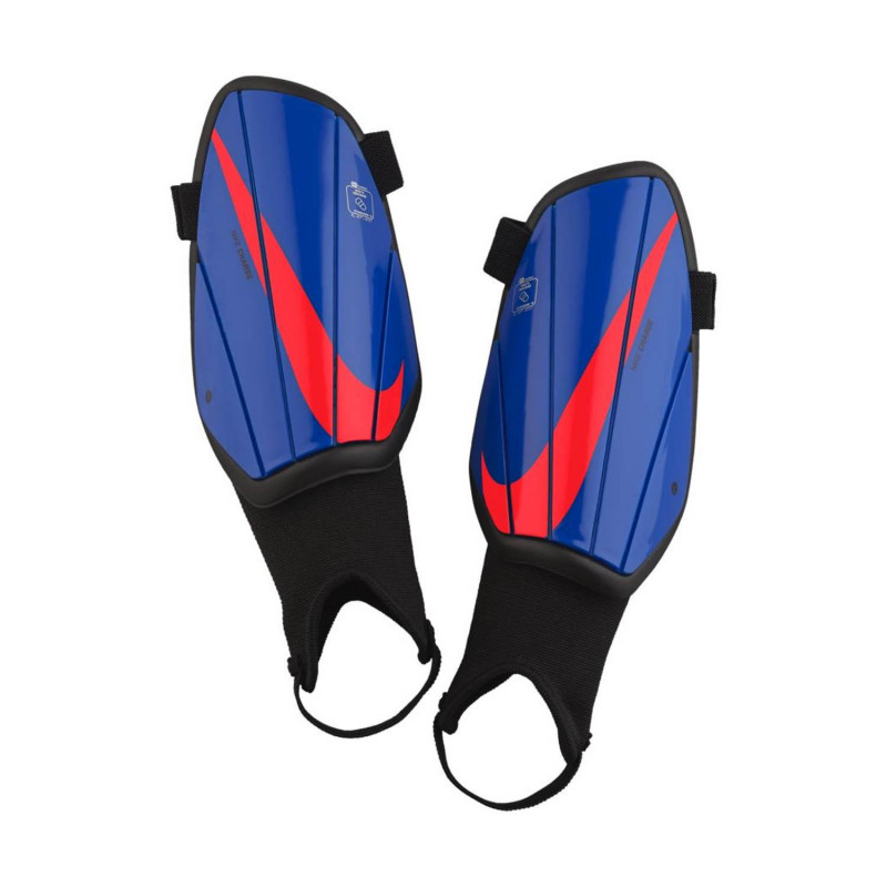 NIKE YOUTH CHARGE SHIN GUARD – RACER BLUE/BLACK