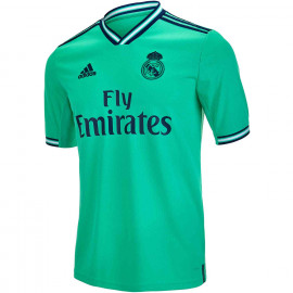 adidas Kids Real Madrid 3rd Jersey – 2019/20- (Turquoise)
