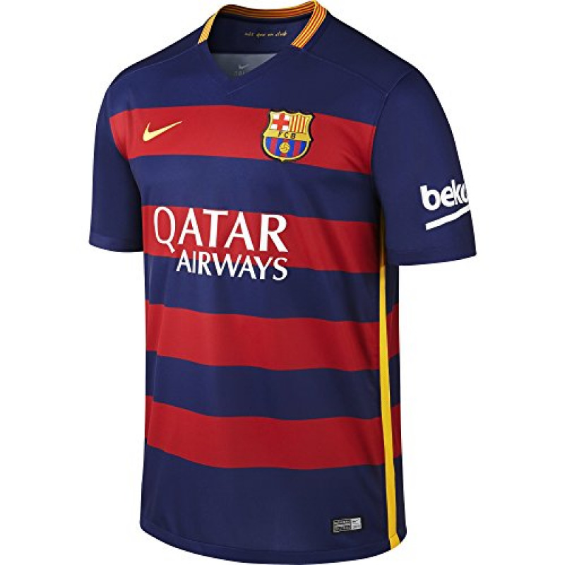 NIKE BARCELONA MEN'S HOME JERSEY 2015-2016