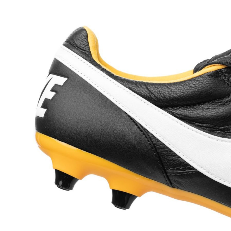NIKE PREMIER II FG FIRM-GROUND  WHITE-BLACK-TOTAL ORANGE