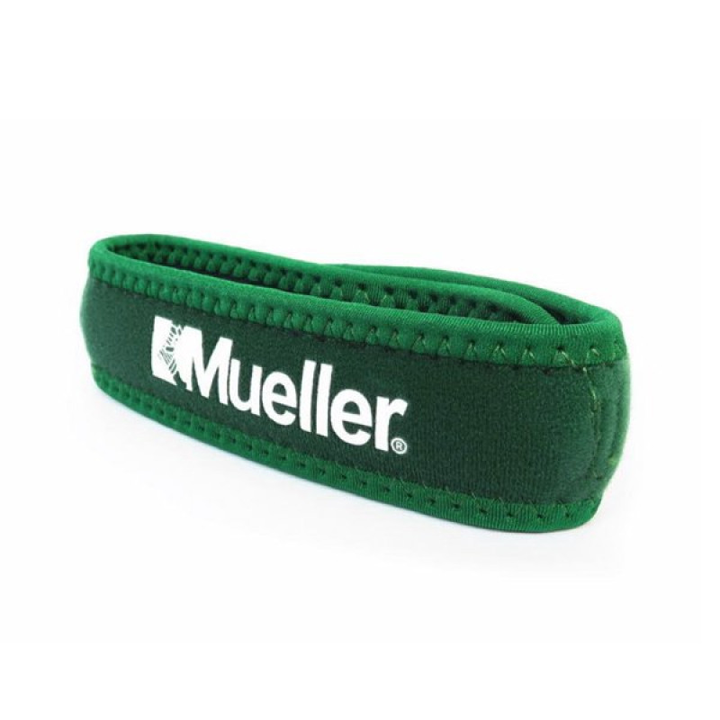 MUELLER JUMPER KNEE STRAP -ONE SIZE FITS MOST - FOREST GREEN