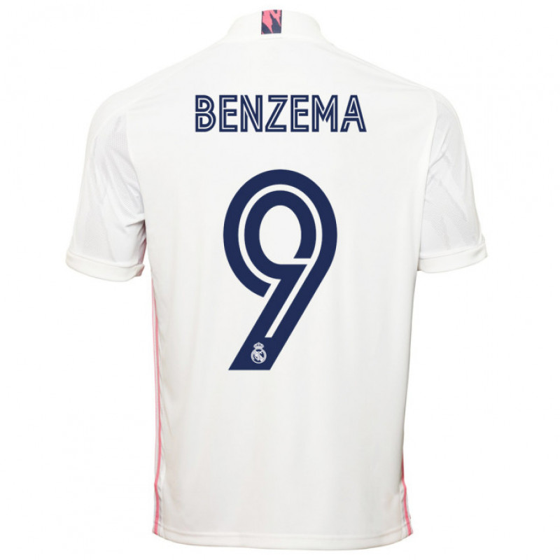 adidas REAL MADRIC HOME JERSEY 2020-2021 BENZEMA #9