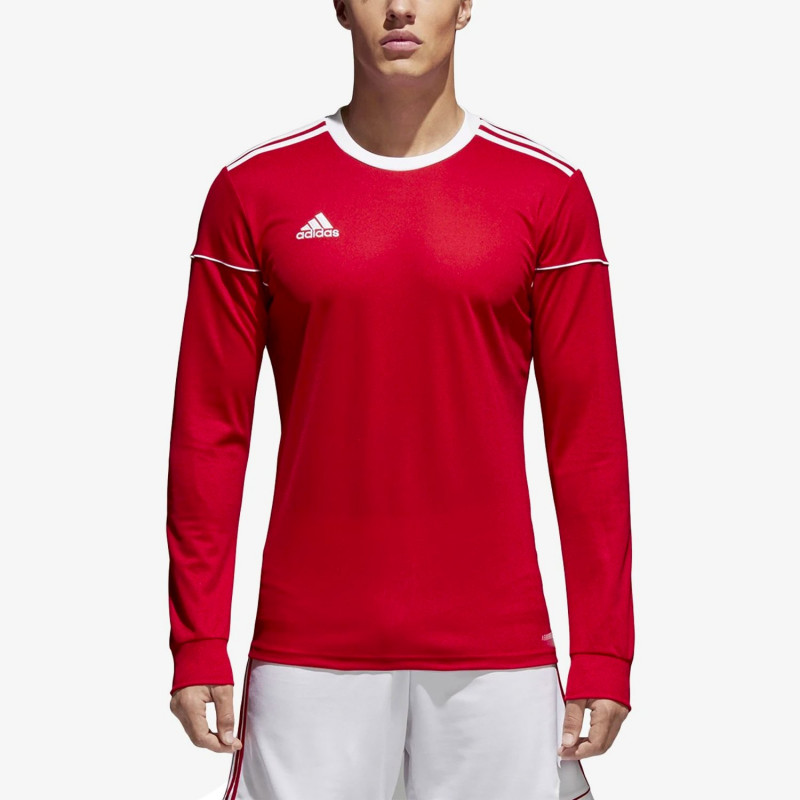 adidas SQUAD 17 JERSEY LONG SLEEVE MEN'S -power red-white