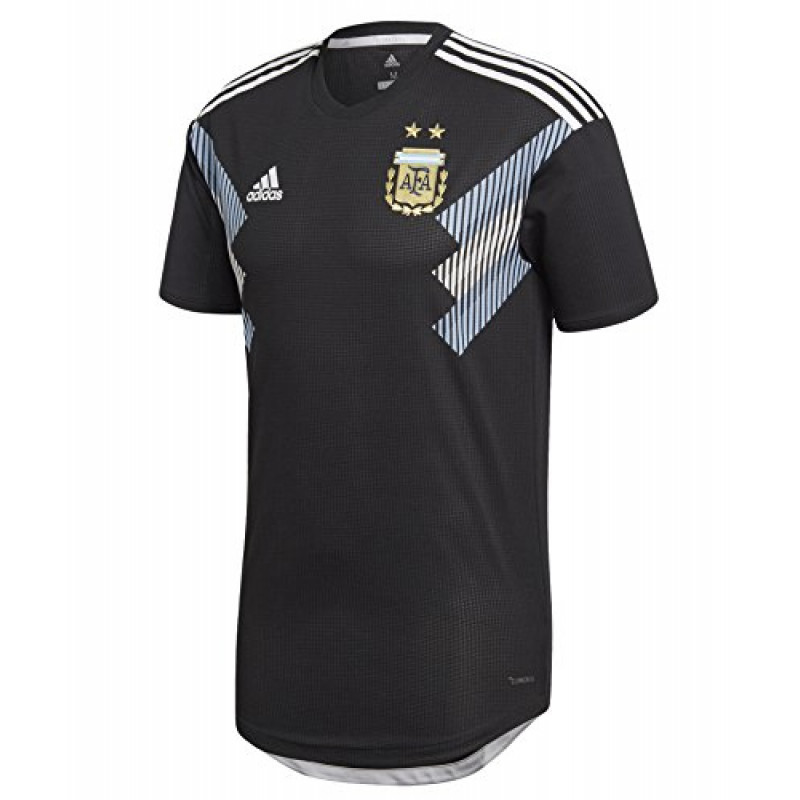 adidas ARGENTINA MEN'S AWAY AUTHENTIC JERSEY WORLD CUP 2018