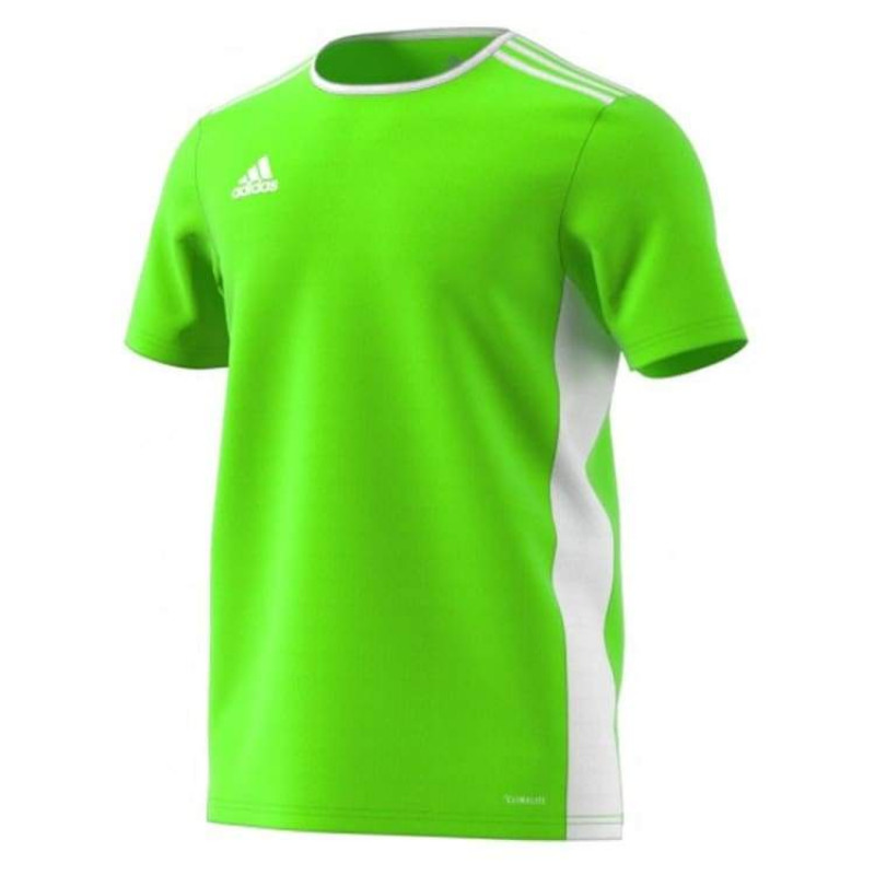 ADIDAS ENTRADA 18 YOUTH  JERSEY -SOLAR GREEN -WHITE