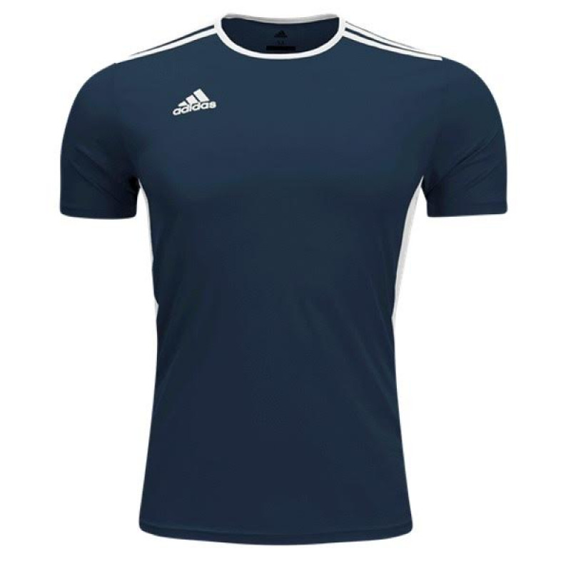 adidas ENTRADA 18  YOUTH  JERSEY -NAVY-WHITE