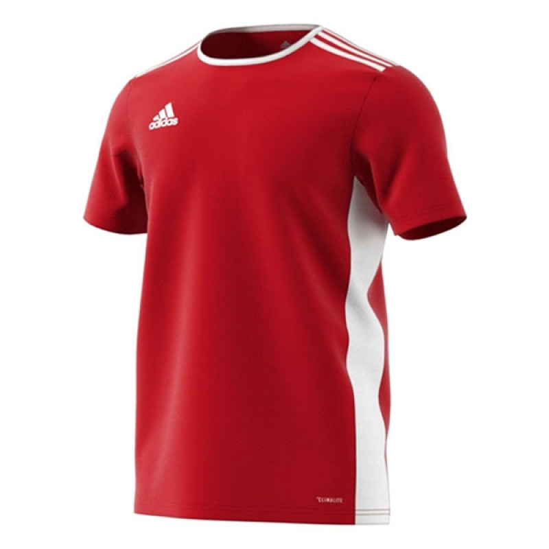 ADIDAS ENTRADA 18 YOUTH JERSEY- RED-WHITE
