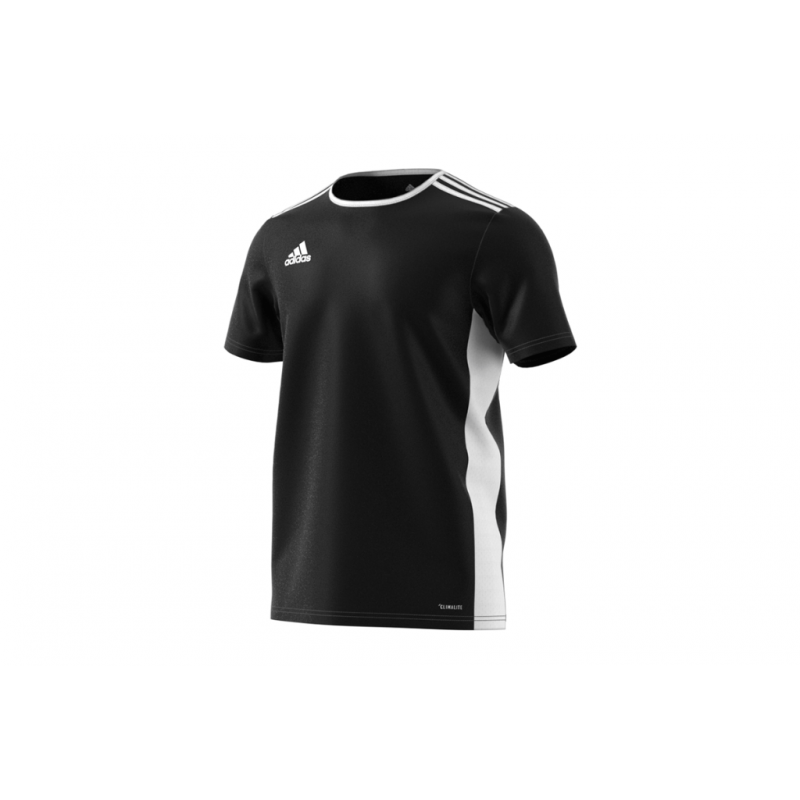 adidas ENTRADA 18 YOUTH JERSEY -BLACK-WHITE
