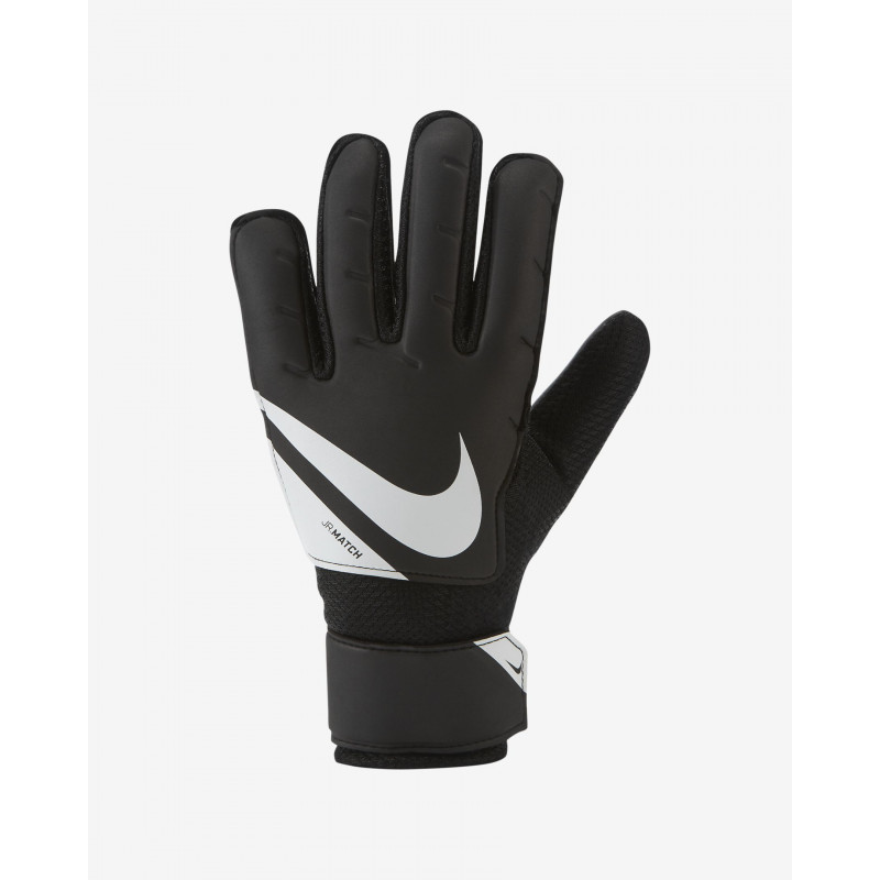 NIKE JR MATCH GLOVES -BLACK-WHITE