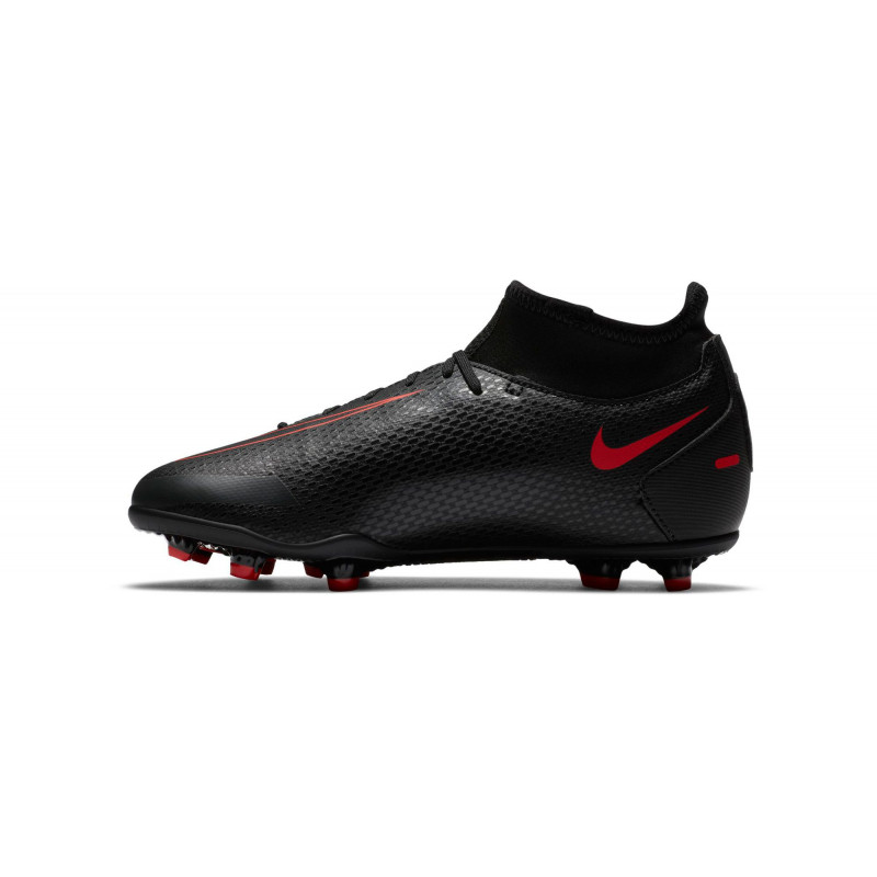 NIKE PHANTON GT CLUB YOUNG  DF FG/MG BLACK-RED