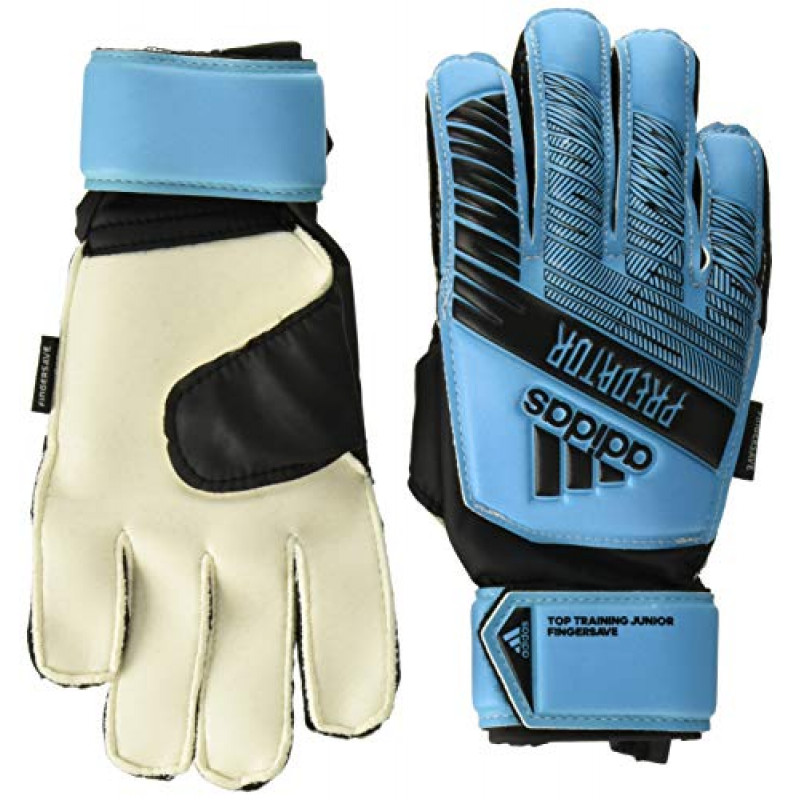 adidas Youth Predator Top Training Finger Save Soccer Goalkeeper Gloves