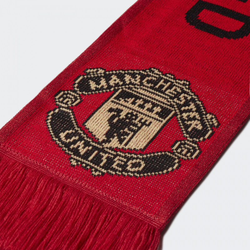 adidas MANCHESTER UNITED SCARF Real Red / Power Red / Black
