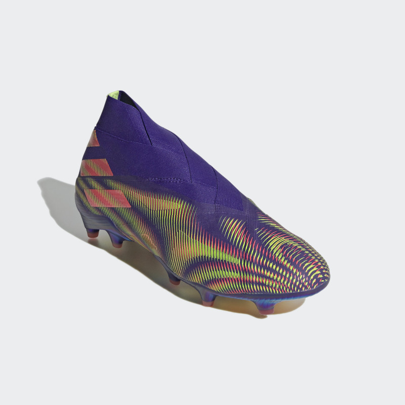 adidas NEMEZIZ FIRM GROUND CLEATS -ENERGY INK-SIGNAL PINK-SIGNAL GREEN