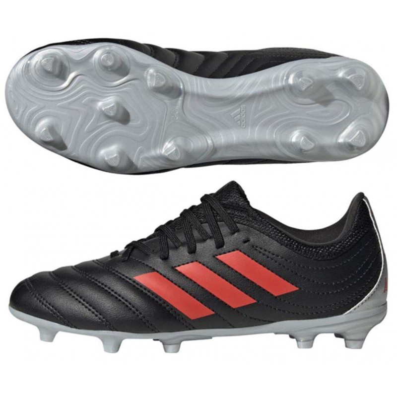 adidas COPA 19.3 YOUTH  FIRM GROUND-BLACK-RED