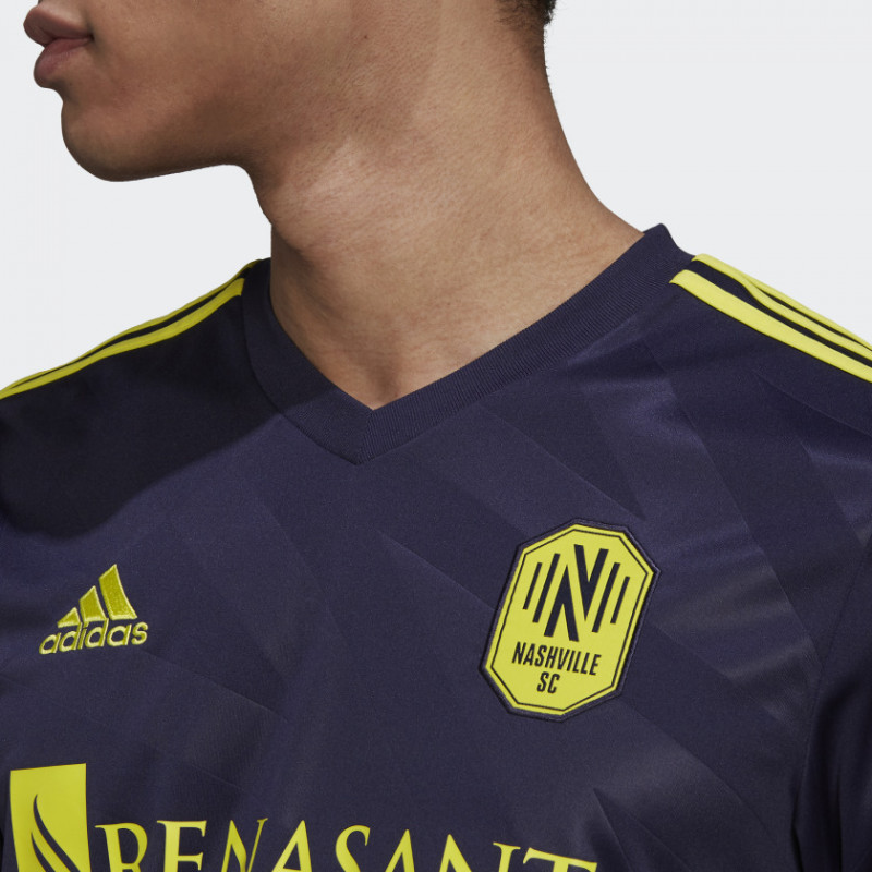 adidas NASHVILLE SC MEN'S AWAY JERSEY -2021-2022- Noble Ink