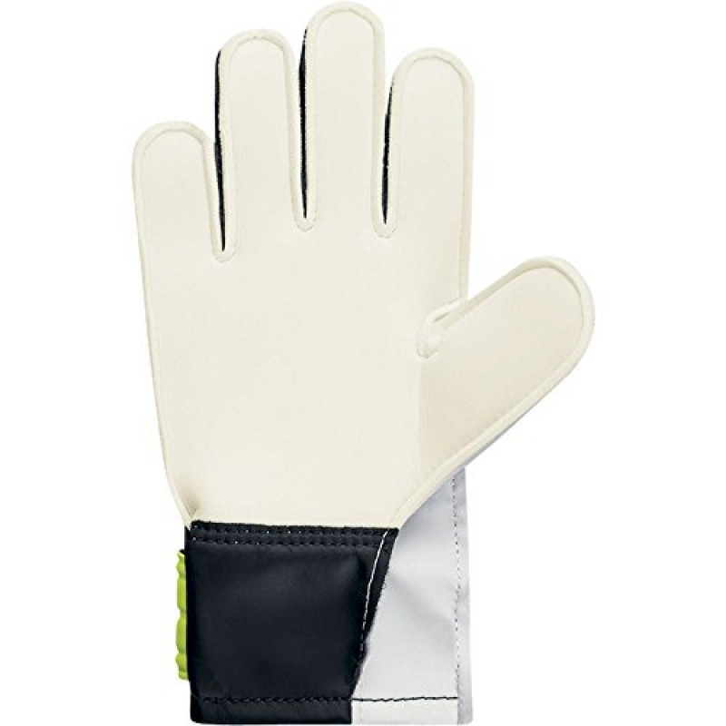 NIKE JUNIOR GOAL KEEPER GLOVES GRIP WHITE-BLACK-NEON