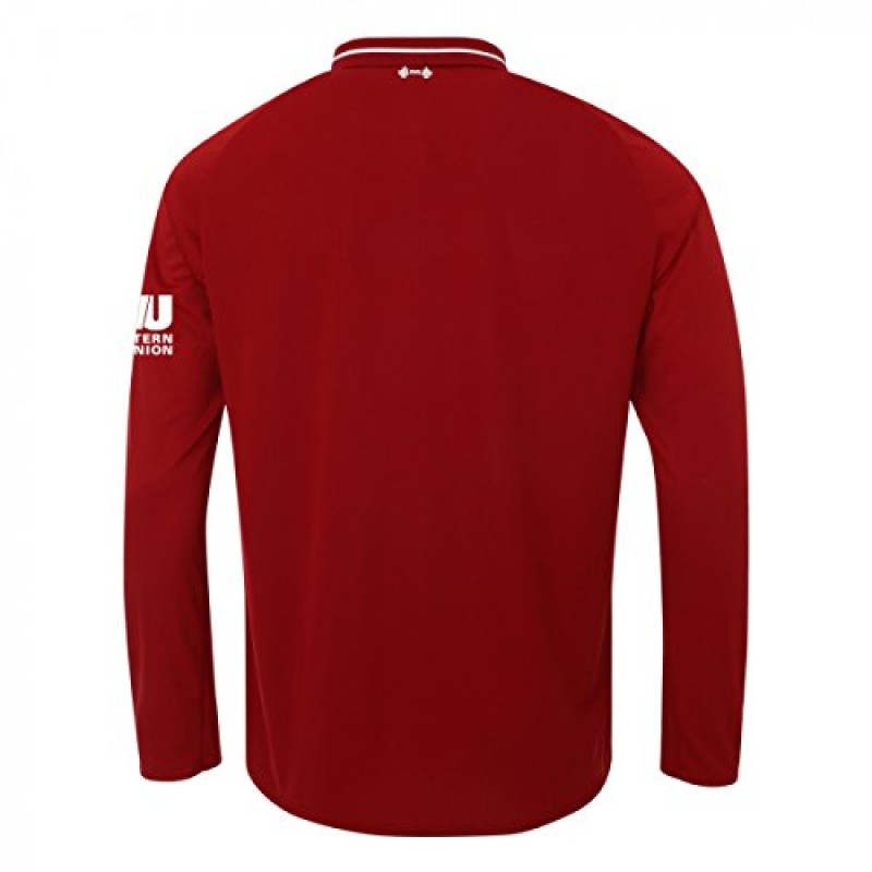 NEW BALANCE LIVERPOOL YOUTH HOME JERSEY LONG-SLEEVE -2018-2019