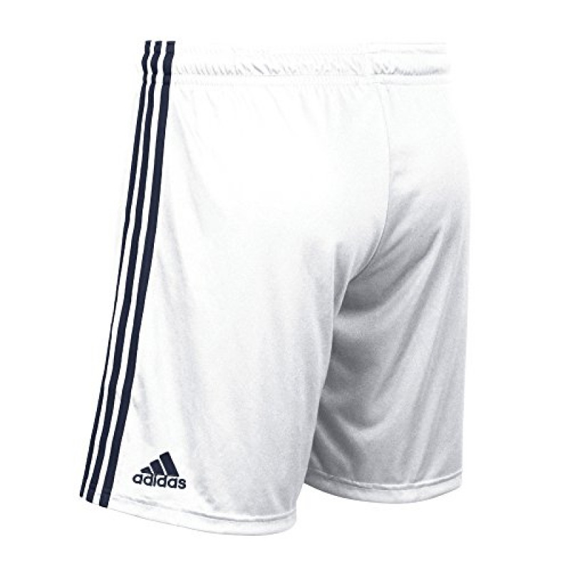 adidas MLS  GALAXY  MEN'S SHORTS -WHITE-NAVY BLUE