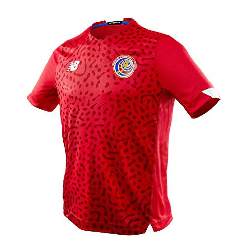 NEW BALANCE COSTA RICA MEN'S HOME JERSEY 2021-2022