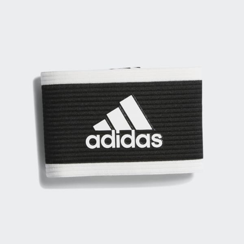 adidas CAPTAIN ARMBAND BLACK/WHITE