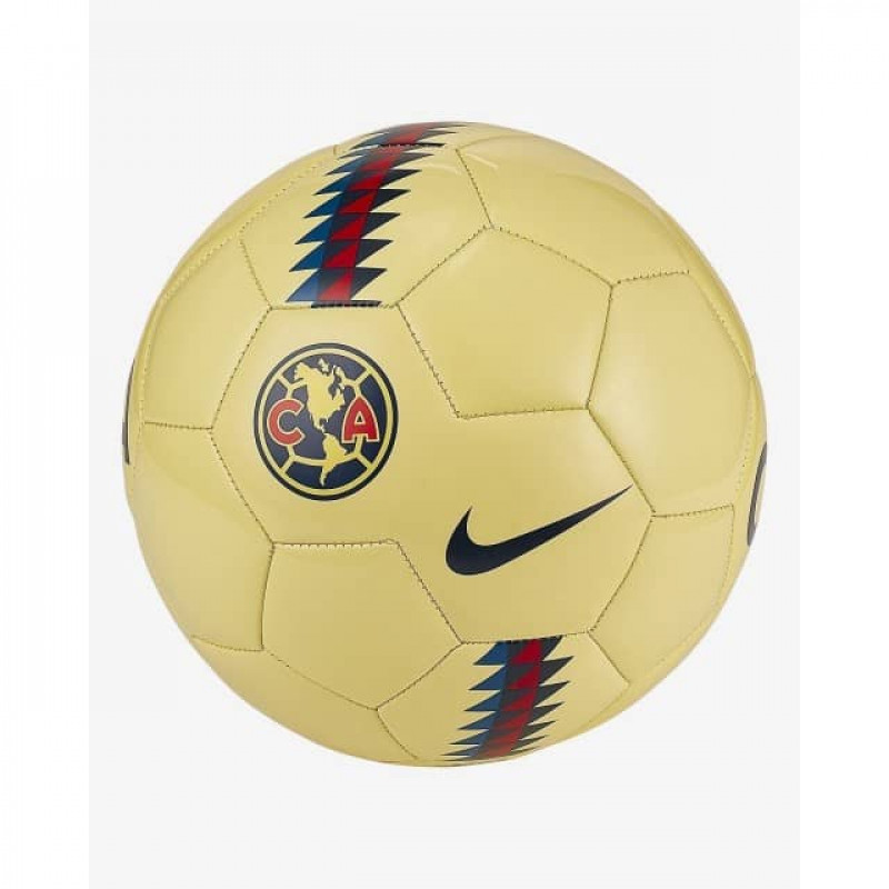 NIKE CLUB AMERICA BALL-YELLOW-BLUE-RED