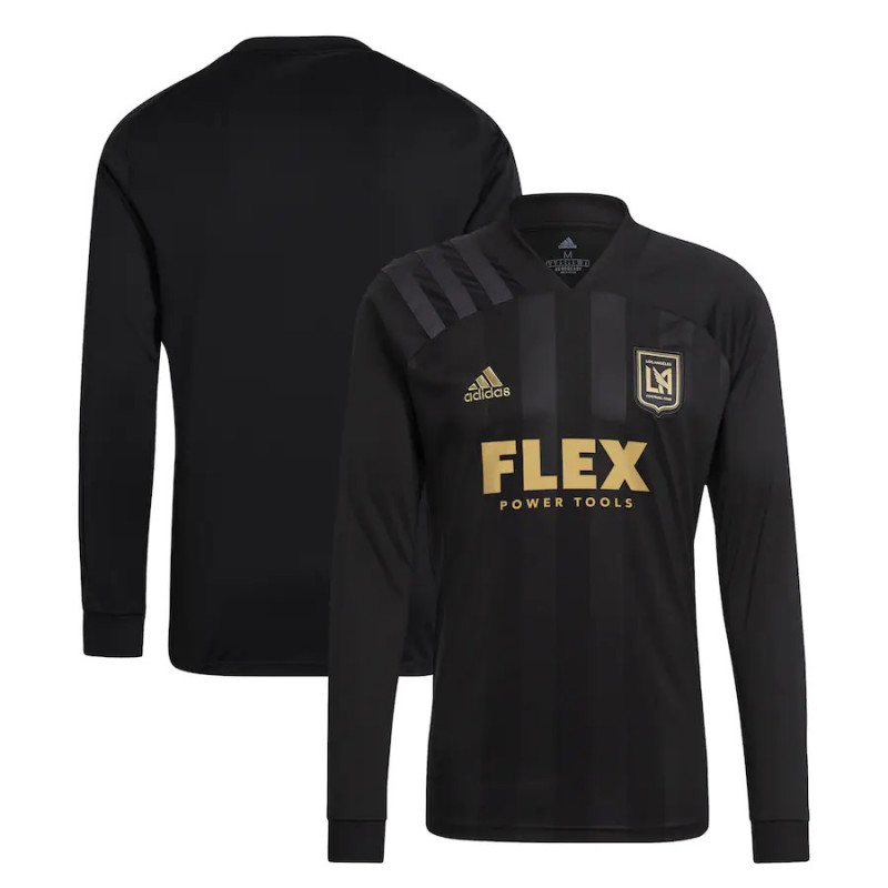 adidas LAFC MEN'S LONG SLEEVE HOME JERSEY- 2021/2022
