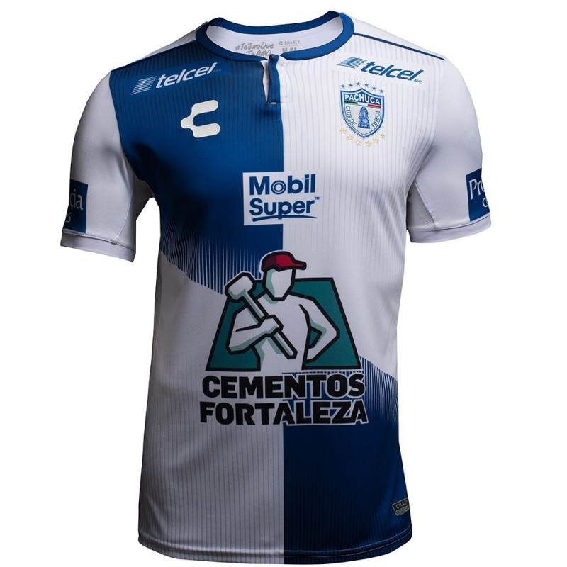 Charly Men's Club Pachuca Home Jersey 18-19