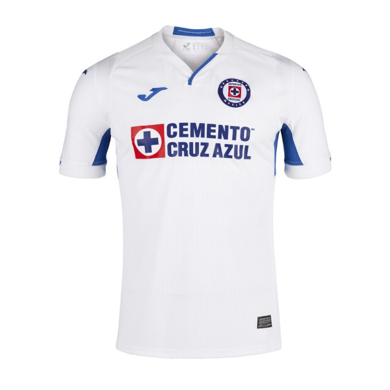 Joma Men's Cruz Azul Away Jersey 2019-White