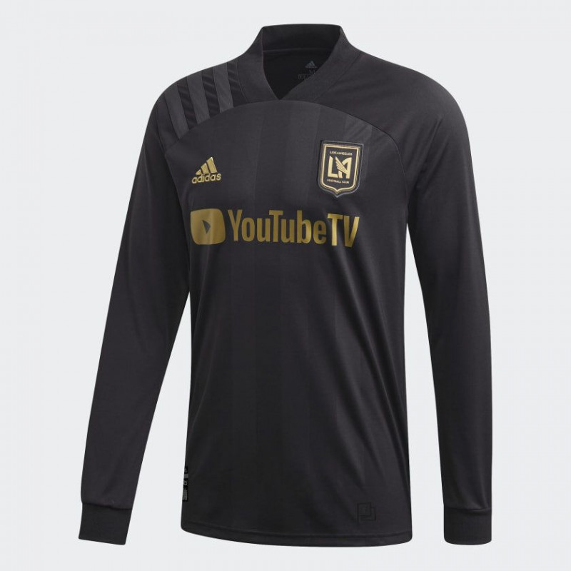 ADIDAS LAFC HOME MEN'S LONG-SLEEVE HOME JERSEY