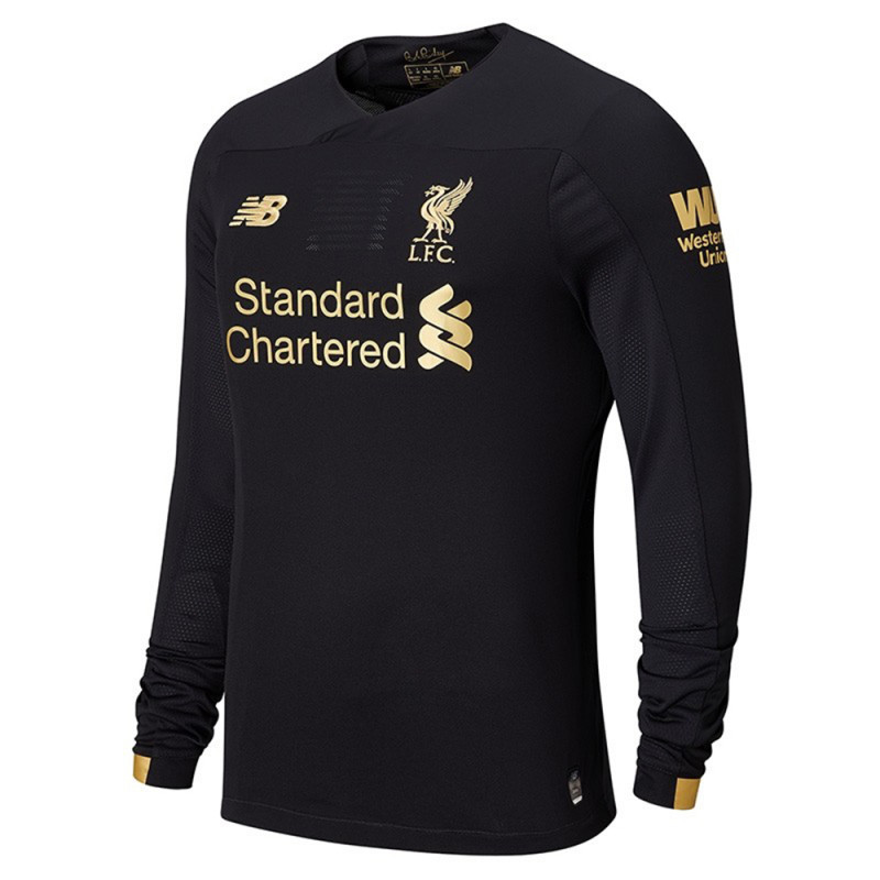 New Balance 2019/20 LFC Liverpool Home Goalkeeper Long Sleeve (Black)