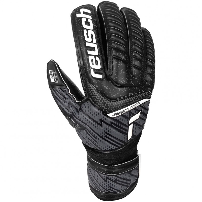 REUSH ATTRAKT RESIST GK  JUNIOR - BLACK-WHITE