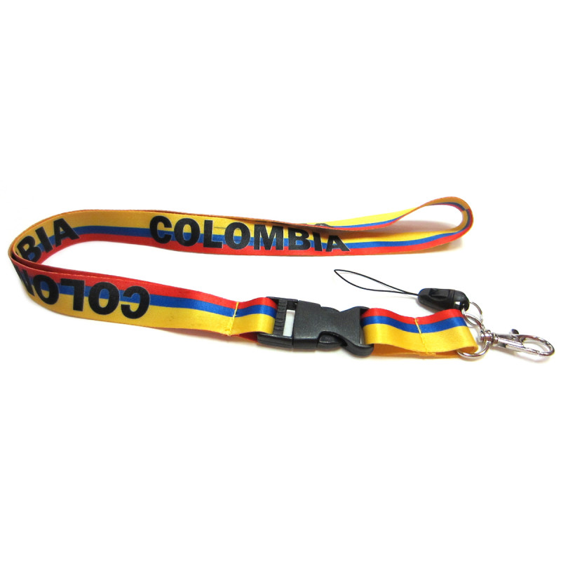 COLOMBIA - NECK LANYARD