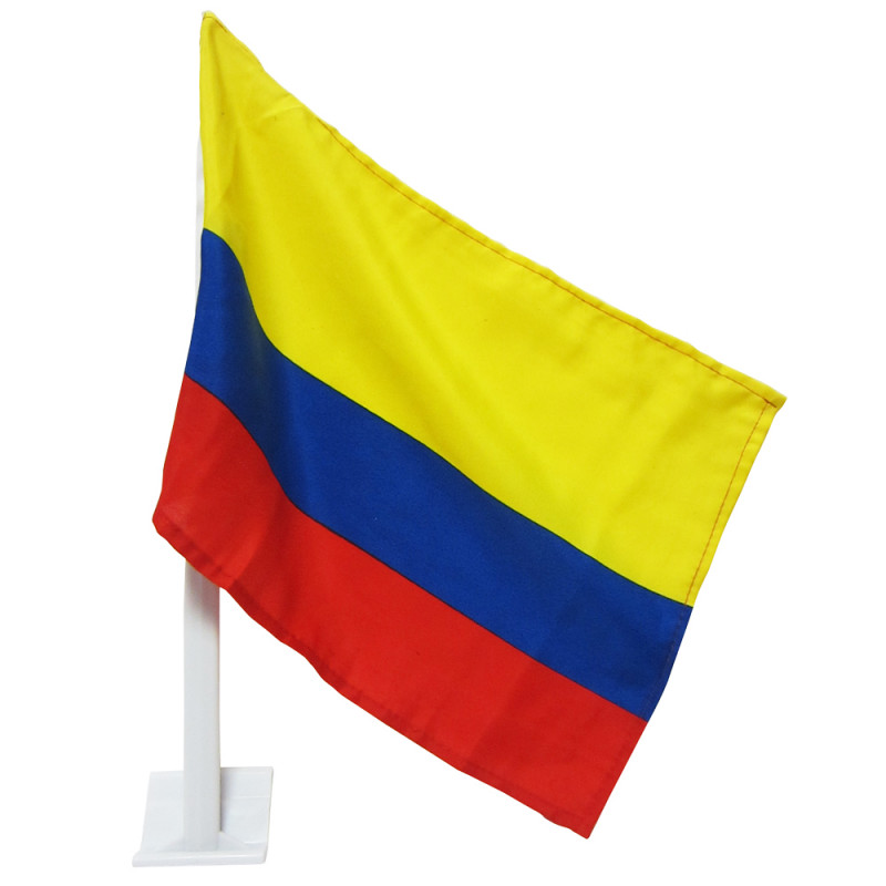 COLOMBIA CAR FLAG
