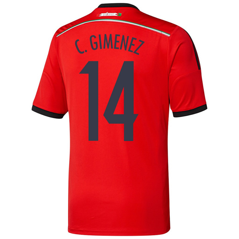 15e043bf942 MEXICO AWAY JERSEY 2014 (YOUTH) C. GIMENEZ 14