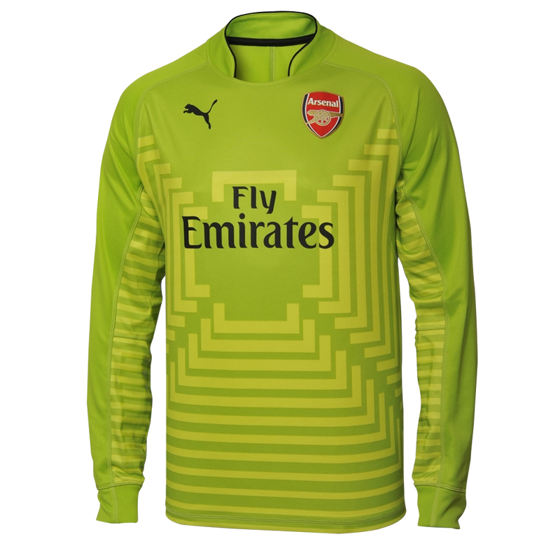 8d08ecfc4 ARSENAL GOALKEEPER JERSEY 14 15 LS (LIME GREEN)