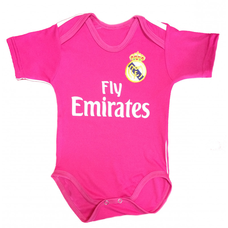 ff02878d8 REAL MADRID AWAY BABY SUIT 2014 15