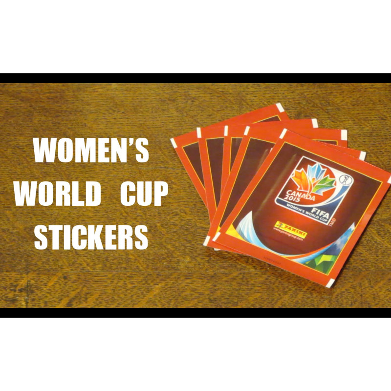 STICKERS FOR OFFICIAL LICENSED WC CANADA 2015 ALBUM