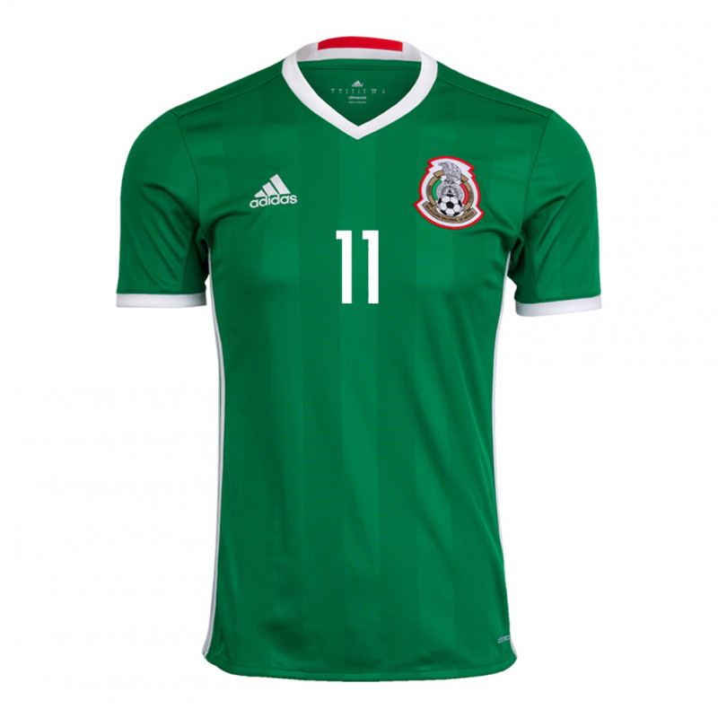 919bc7f1 ... Carlos Vela #11 Mexico Men's Home Jersey 2016-2017