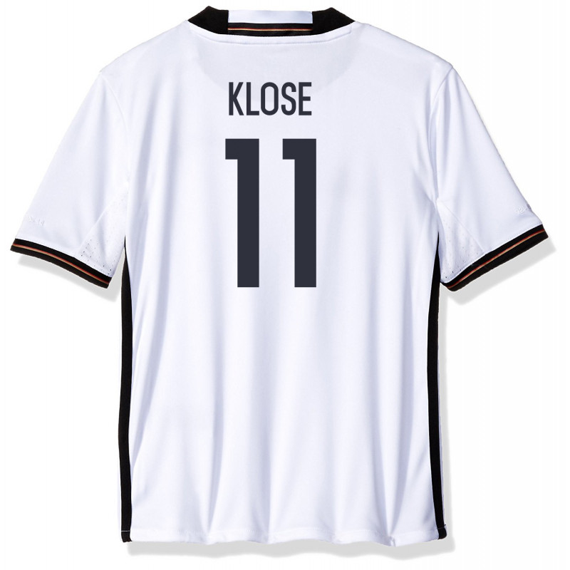Germany Home Soccer Jersey Euro 2016 YOUTH Klose #11