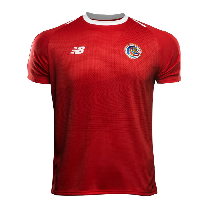 Costa Rica Men's home Jersey World Cup Russia 2018