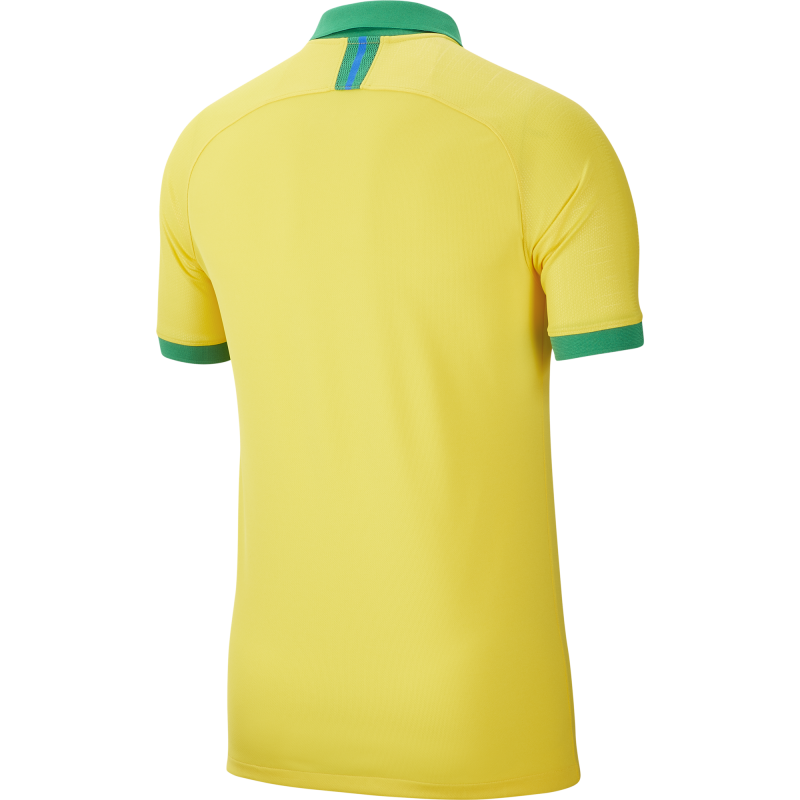 Nike Men's Brazil Home Soccer Jersey 2019-20 (Yellow)